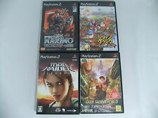 Playstation 2  games lot of 4 Japan Version Sony  PS2