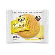 10x Lenny & Larry's COMPLETE COOKIE, LEMON POPPY SEED 16g Protein,Vegan*USA Made