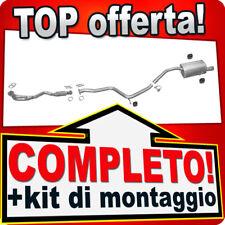 Scarico Completo ALFA ROMEO 156 1.6 1.8 2.0 TS 3-Volumi 1997-05.2000 B90