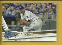 Wade Davis 2017 Topps Series 1 Card # 225 Colorado Rockies Baseball MLB