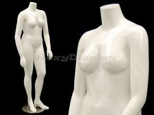 Fiberglass Female Headless Mannequin Mature Plus Size Display #MD-NANCYBW2S