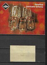 MATCHBOX LABELS- GERMANY. Paraffine hurricane lanterns, packet size label, Riesa