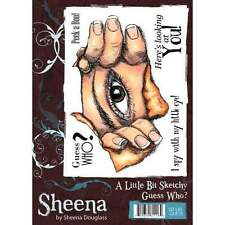 Nuevo conjunto de sello Sheena Douglass Un poco Deathbat Guess Who?