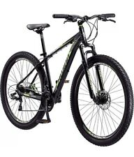 "Adult Mountain Bike 29"" Men Boundary Dark Green Black 21 Speed Aluminum Bicycle"