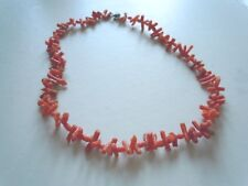 Vintage-natural, rama rama, Collar De Coral