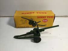 Dinky 692 5.5 Medium Gun within Its Original Box
