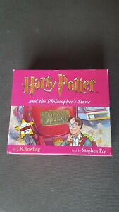 harry potter and the philosophers stone audio cd.Read by Stephen Fry. Unopened.