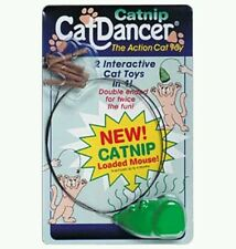 Catnip Cat Dancer Action Cat Toy. 2 Interactive Toys in 1! Made in USA.