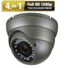 Ture 1080P HDAHD TVI CVI CVBS 2.6MP Analog 4-in-1 OSD Menu CCTV Security Camera