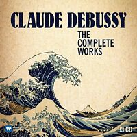 CLAUDE DEBUSSY - THE COMPLETE WORKS - LIMITED EDITION  33 CD NEW!