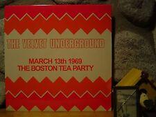 VELVET UNDERGROUND March 13th, 1969 The Boston Tea Party 2xLP/Live VU/NEW!