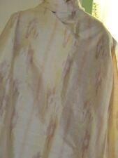 Tissu en pure soie sauvage tissé doré très classe sur 120 cm de large au mètre