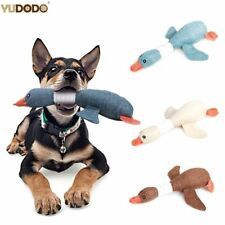 Squeaky Goose Plush Toy for Dogs Resistance To Bite Sound Pets Toy Chewing Toys