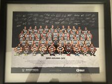 Geelong Cats 2018 Signed Team Photo *LIMITED RUN* *NO. 249/600*