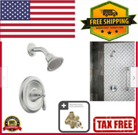 Moen T2152 Brantford Posi-Temp Bathroom Shower Trim Kit without Valve Chrome