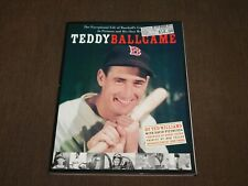 2002 TEDDY BALL GAME TED WILLIAMS BASEBALL BOSTON RED SOX BOOK