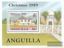 Anguilla Blok 84 (compleet.Kwestie.) MNH 1989 Historisch Bouwen