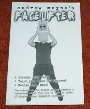 Face Lifter (Andrew Mayne, 2002, self-published) -Tmgs Book-Mania