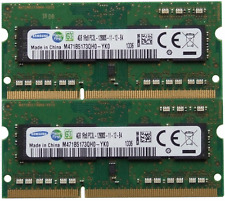 Samsung ram memory 8GB kit DDR3 PC3-12800,1600MHz for 2012 Apple Macbook Pro's