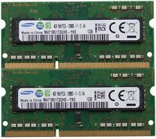 Samsung ram memory 8GB kit DDR3 PC3-12800,1600MHz for 2012 Apple Macbook Pro's