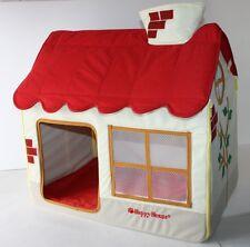 Hundehütte / Hundehaus / Katzenhaus von Happy House Stoff bunt 62x42x59 cm