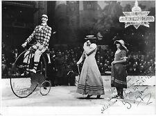 Photo Cirque MEDRANO - 1952 - Clown Grand Bi  - Dédicacée -