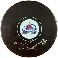 Ian Cole autographed signed puck NHL Colorado Avalanche PSA COA