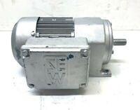 SEW-EURODRIVE MOTOR, R32DT71C2, 3 PHASE, 230/460 VAC, .5 HP, 60 HZ