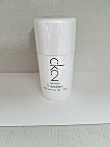 CK2 By Calvin Klein For Men 2.6 oz/ 75 g Deodorant Stick New & Sealed