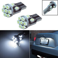 2x White Car License Plate Lights 168 194 2825 2821 W5W 13-SMD LED Bulbs Useful