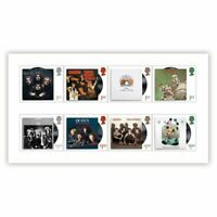 Great Britain 2020 Queen Music Giants Part IV Set of 8 Stamps MUH