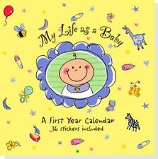 Wall Calendar My Life as a Baby by Peter Pauper Press 9781593596101