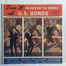 GARY U.S. BONDS Dance 'til Quarter To Three SEALED LP Legrand LG-1002 Stereo '84