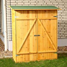 Mobile armadio ripostiglio in legno da esterno giardino