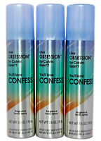 Designer Imposters Confess Fragrance Body Spray Perfume Obsession 2.5oz Lot of 3