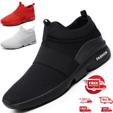 Men's Comfort Lightweight Slip on Shoes Jogging Athletic Running Gym Sneakers US