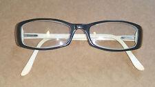 VOGUE 2337 plastic eyeglass frames - black and ivory