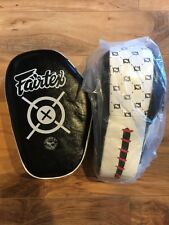 New Fairtex Aero Focus Pads Hit Mitts Boxing Muay Thai