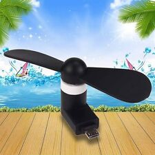 Best Micro USB Fan Portable Power Mini For Android Smartphone Super Mute Cooler