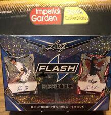 2020 LEAF FLASH béisbol pasatiempo caja sellada de fábrica Auto 6 por caja