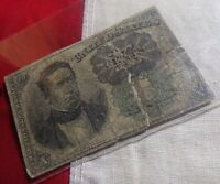 ORIGINAL FR 1264 10 Cent Fractional Currency Note 5th Issue GREEN SEAL REPAIR!!!