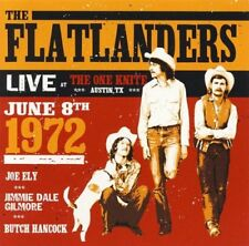 FLATLANDERS LIVE AT THE ONE NITE ALTERNATIVE COUNTRY CD NEU
