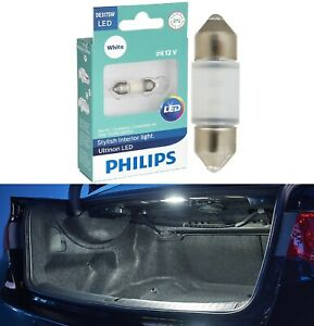 Philips Ultinon LED Light DE3175 White 6000K One Bulb Trunk Cargo Replacement