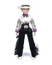 """Breyer Taylor Cowgirl 8"""" Doll Traditional 1:9 Scale No 541"""