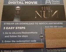 The Nun (2018) movie DIGITAL CODE only