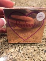 Radiance Revolution GLOW HEARTS Triple Baked Highlighter 0.35oz 10g New!