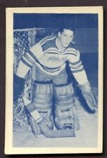 1952-53 Junior Blue Tint Hockey # 64 Marcel Paille Citadels CREASE FREE