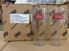 72 x Hard Plastic Stella Pint Glasses Branded Reusable Tumblers Dishwasher Safe