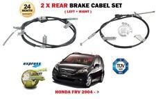 FOR HONDA FRV 1.7 1.8 2.0 2.2 CTDi VTEC 2004-> 2X REAR LEFT + RIGHT BRAKE CABLE