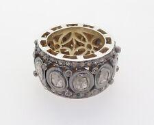 .Handmade 2.50ct Rose Cut Full Circle Diamond Eternity Ring Size N Val $8810